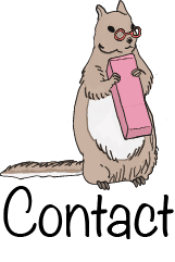 The Blog Icon is a cat holding a pencil.