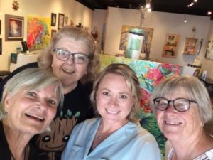The Fearless Foursome Together, Marsha Elyn Wright's Critique Group with SCBWI